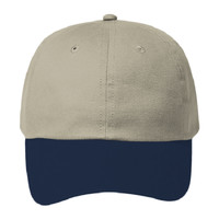 OTTO Brushed Cotton Twill Six Panel Low Profile Baseball Cap