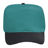 OTTO Brushed Cotton Blend Twill Five Panel High Crown Baseball Cap