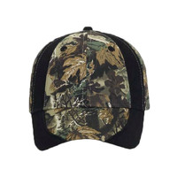 OTTO Camouflage Piping Design Cotton Twill Six Panel Low Profile Baseball Cap
