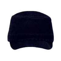 OTTO Cotton Blend Knit Short Visor Beanie