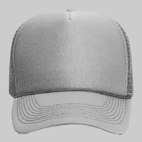 OTTO Polyester Foam Front Five Panel Pro Style Mesh Back Trucker Hat