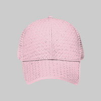 OTTO Toyo Straw Six Panel Low Profile Mesh Back Trucker Hat