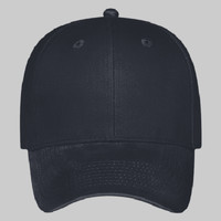 OTTO Brushed Cotton Blend Twill Six Panel Low Profile Baseball Cap