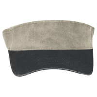 "OTTO Garment Washed Pigment Dyed Stretchable Cotton Twill ""OTTO FLEX"" Sun Visor"