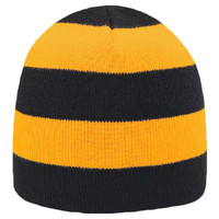 "OTTO Acrylic Knit 8 1/2"" Striped Beanie"
