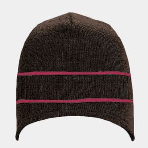 OTTO Acrylic Knit Beanie with Stripes Thumbnail