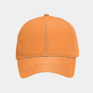 OTTO Neon Polyester Twill Six Panel Low Profile Baseball Cap Thumbnail