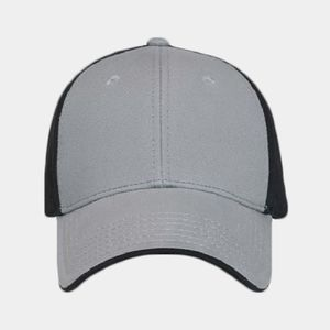OTTO Ultra Fine Brushed Superior Cotton Twill Flipped Edge Visor Six Panel Low Profile Baseball Cap Thumbnail