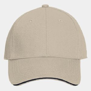 OTTO Stretchable Superior Cotton Twill Sandwich Visor