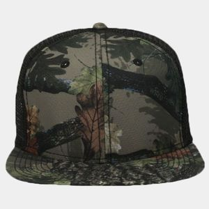 OTTO Camouflage Superior Polyester Twill Square Flat Visor