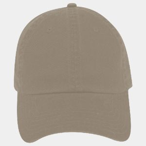 OTTO Garment Washed Cotton Twill Six Panel Low Profile Dad Hat Thumbnail