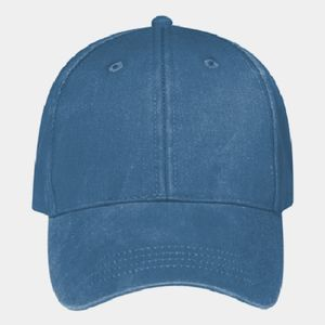 OTTO Garment Washed Pigment Dyed Superior Cotton Twill Six Panel Low Profile Dad Hat Thumbnail