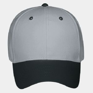 OTTO Brushed Cotton Twill Six Panel Low Profile Baseball Cap Thumbnail