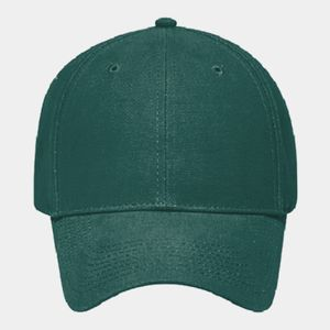 OTTO Brushed Cotton Canvas Six Panel Low Profile Baseball Cap Thumbnail
