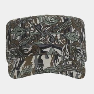 OTTO Camouflage Cotton Twill Military Style Cap Thumbnail