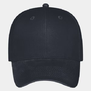 OTTO Brushed Cotton Blend Twill Six Panel Low Profile Baseball Cap Thumbnail